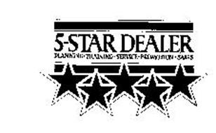 5-STAR DEALER PLANNING.TRAINING.SERVICE.PROMOTION.SALES