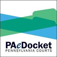 PAEDOCKET PENNSYLVANIA COURTS