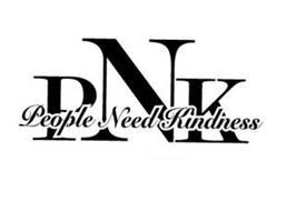 PNK PEOPLE NEED KINDNESS