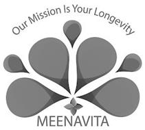 OUR MISSION IS YOUR LONGEVITY MEENAVITA