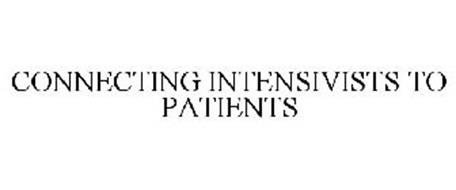 CONNECTING INTENSIVISTS TO PATIENTS