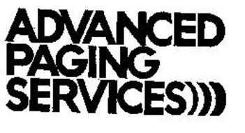 ADVANCED PAGING SERVICES