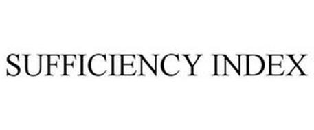 SUFFICIENCY INDEX
