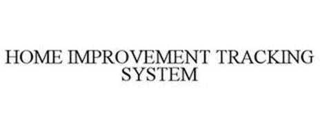 HOME IMPROVEMENT TRACKING SYSTEM