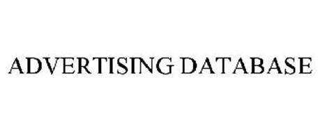 ADVERTISING DATABASE