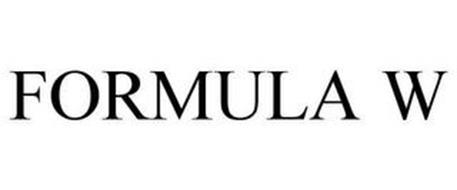 FORMULA W