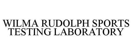 WILMA RUDOLPH SPORTS TESTING LABORATORY