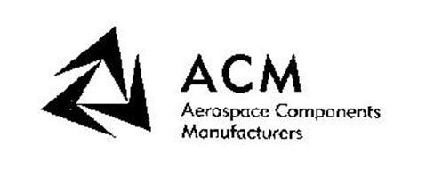 ACM AEROSPACE COMPONENTS MANUFACTURERS