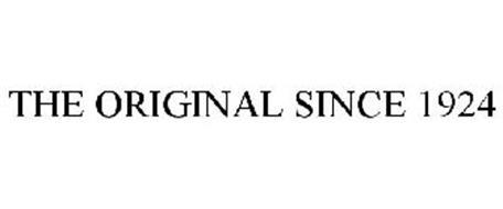THE ORIGINAL SINCE 1924