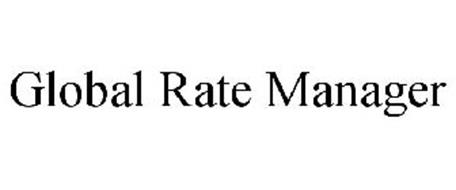 GLOBAL RATE MANAGER