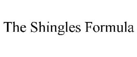THE SHINGLES FORMULA