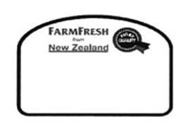 FARMFRESH FROM NEW ZEALAND FIRST QUALITY