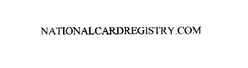 NATIONALCARDREGISTRY.COM