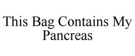 THIS BAG CONTAINS MY PANCREAS