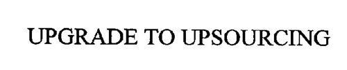 UPGRADE TO UPSOURCING