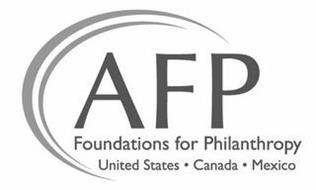 AFP FOUNDATIONS FOR PHILANTHROPY UNITEDSTATES · CANADA · MEXICO