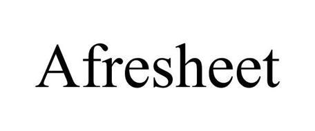 AFRESHEET