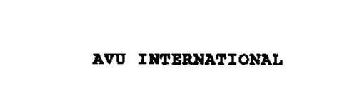 AVU INTERNATIONAL