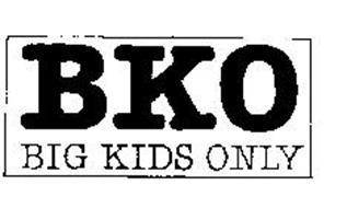 BKO BIG KIDS ONLY