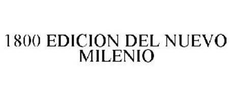 1800 EDICION DEL NUEVO MILENIO