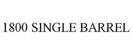 1800 SINGLE BARREL