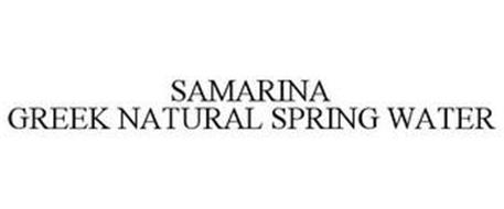SAMARINA GREEK NATURAL SPRING WATER