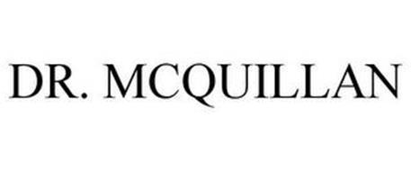 DR. MCQUILLAN