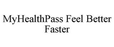 MYHEALTHPASS FEEL BETTER FASTER