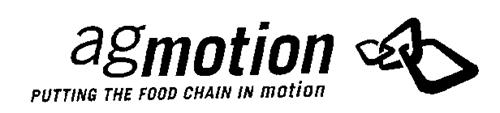 AGMOTION PUTTING THE FOOD CHAIN IN MOTION
