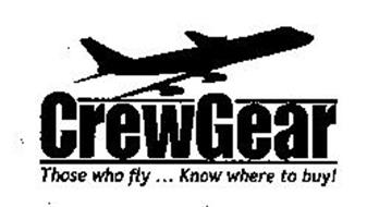 CREWGEAR THOSE WHO FLY ... KNOW WHERE TO BUY!
