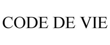 CODE DE VIE