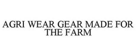 AGRI WEAR GEAR MADE FOR THE FARM
