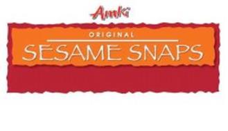 AMKI ORIGINAL SESAME SNAPS