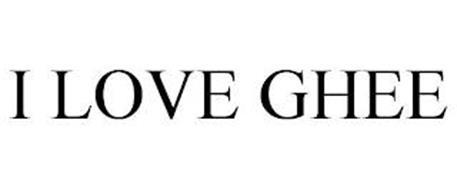 I LOVE GHEE