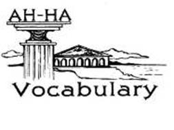 AH-HA VOCABULARY