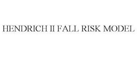 HENDRICH II FALL RISK MODEL
