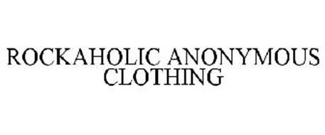 ROCKAHOLIC ANONYMOUS CLOTHING