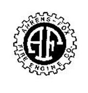 AHRENS-FOX FIRE ENGINE CO. AF