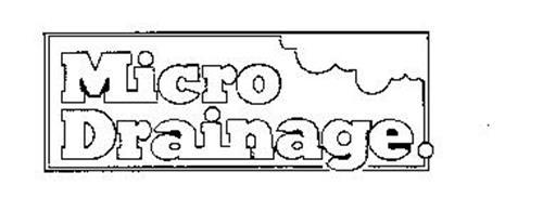 MICRO DRAINAGE.