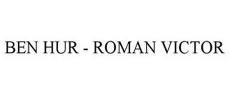 BEN HUR - ROMAN VICTOR