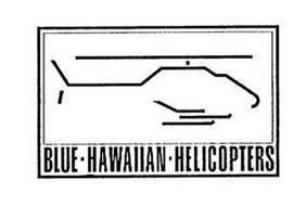 BLUE · HAWAIIAN · HELICOPTERS