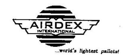 AIRDEX INTERNATIONAL...WORLD'S LIGHTEST PALLETS!