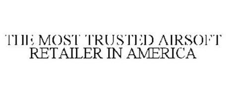 THE MOST TRUSTED AIRSOFT RETAILER IN AMERICA