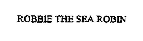 ROBBIE THE SEA ROBIN