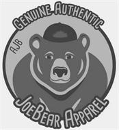 GENUINE AUTHENTIC JOEBEAR APPAREL AJB