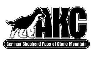 AKC GERMAN SHEPHERD PUPS OF STONE MOUNTAIN