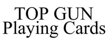TOP GUN PLAYING CARDS