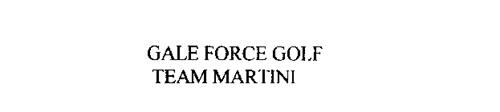 GALE FORCE GOLF TEAM MARTINI