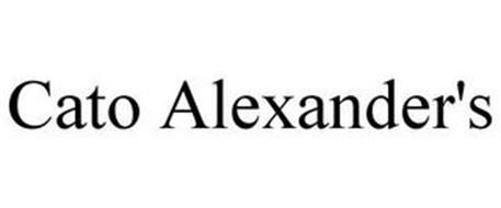 CATO ALEXANDER'S