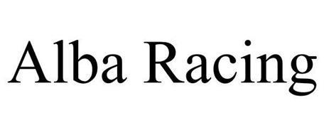 ALBA RACING Trademark of Alba Racing Serial Number: 85704443